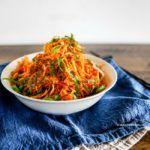Spicy Korean Coleslaw | MyKoreanKitchen.com