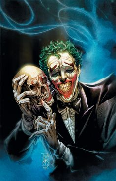 Legendary action and horror writer/director John Carpenter is teaming up with Borderlands Anthony Burch to pen a special DC Comics one-shot entitled Joker: Year of the Villain. Comic Del Joker, Joker Comic Book, Comic Art, Comic Books Art, Joaquin Phoenix, Borderlands 2, Dc Comics, Gotham City, Univers Dc