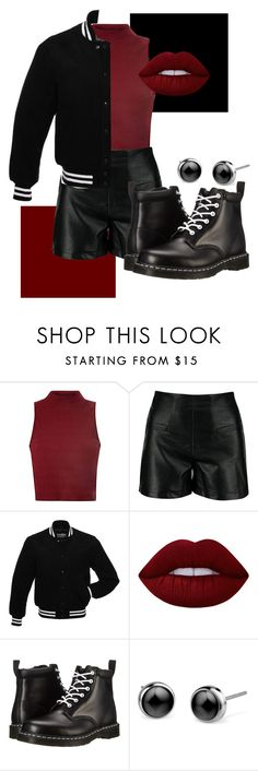 """Rena Lovelis"" by sentatheunicorn on Polyvore featuring Glamorous, Lime Crime, Dr. Martens, RenaLovelis and heyviolet"