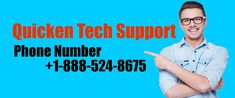Quicken Tech Support Number Quicken is one of the finest tool through which user can simply access and all types . Tech Support, Numbers, Phone, Customer Service, Forget, Telephone, Mobile Phones