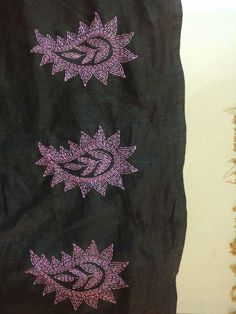 Knitting projects shawl simple 22 ideas for 2019 Kasuti Embroidery, Phulkari Embroidery, Hand Embroidery Flowers, Hand Work Embroidery, Hand Embroidery Stitches, Embroidery Patterns, Knitting Patterns Free Dog, Simple Embroidery Designs, Brazilian Embroidery