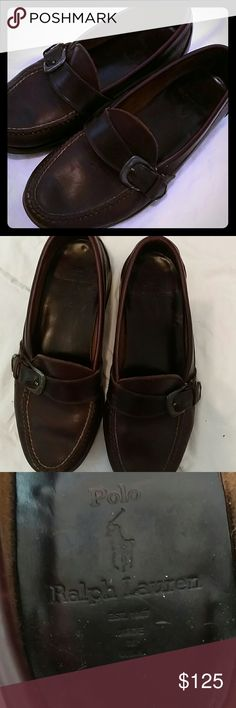 Polo by Ralph Lauren brown loafers - made in USA! These brown leather loafers by Polo by Ralph Lauren were made in the USA!  While vintage, the shoes are in excellent pre-loved condition as evidenced by the photos. Polo by Ralph Lauren Shoes Loafers & Slip-Ons