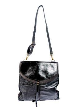Bicolor Shoulder Bag