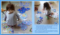 Annie Lang's Free DIY for making your own learning game for kids