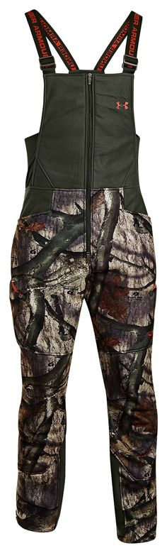 Under Armour® ColdGear® Ayton Camo Bibs for Men | Bass Pro Shops. Size Large