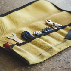 Recycled fire hose tool roll