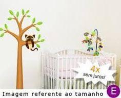 Resultado de imagem para quartos de bebe menino desenhado arvore