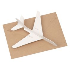 3D plane postcard - Muji