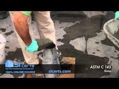 ACI Slump Test: ACI ASTM C143 Concrete Slump 2011