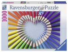 Shop for Color my Heart and other Ravensburger jigsaw puzzles at SeriousPuzzles.com.