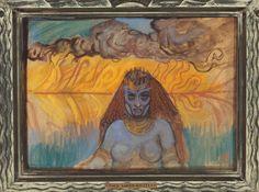 Akseli Gallen-Kallela (1865-1931), Babylonienne - 1899