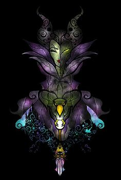 I kind of really want this to be the maleficent tattoo I get:)