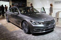 Франкфуртский автосалон 2015: презентовали новый BMW 7-Серии - Автосалон во Франкфурте 2015