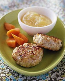 Chicken and Apple Patties (add some good seasoning and use as breakfast sausage)