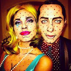 "Derek Blasberg on Twitter: ""Roy Lichtenstein-inspired Halloween costume? Or the measles? http://t.co/fwQlsgZkrO"""