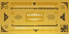 Behrens Ornaments™ font download
