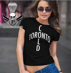 Toronto on is a new T-shirt line from parachutethreads.com it's a cool celebration of Toronto love Cut Above The Rest, Vs The World, Hot Shorts, New T, Toronto, Celebration, Scoop Neck, Short Sleeves, Unisex
