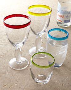 """""""Festival"""" Glassware"""