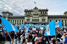 "Photography by Marco Ortiz, Guatemala. ""Cuando Guatemala Habla."" 2015 protests in Guatemala City"