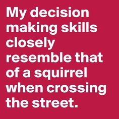 The squirrel's success rate, in fact, may be better than mine.