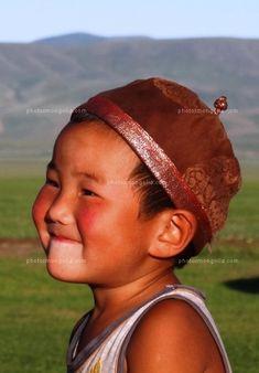 Mongolian child -- ah, heartwarming