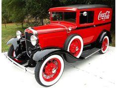 1931 Ford Model A Coca-Cola panel delivery truck Antique Trucks, Vintage Trucks, Antique Cars, Ford Motor Company, Station Wagon, Classic Chevy Trucks, Classic Cars, Coca Cola Ad, Pepsi