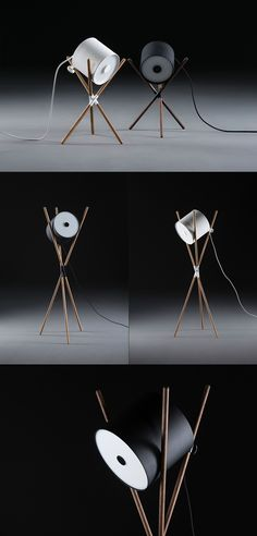 Let's talk about minimalist lighting designs. With Moon collection by Aguskim Studio, you'll have the feel, the taste and the complete experience of having some Luxury Lighting, Cool Lighting, Lighting Design, Piano Lamps, House Lamp, Yanko Design, Light Crafts, Aesthetic Design, Cool Floor Lamps