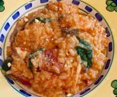 Chicken, Chorizo & Mushroom Risotto
