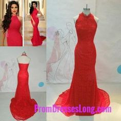 Red Prom Dresses,Mermaid Prom Dress,Red Prom Gown,Lace Prom Gowns,Elegant Evening Dress,Modest Evening Gowns,Simple Party Gowns,Lace Prom Dress MT20181904