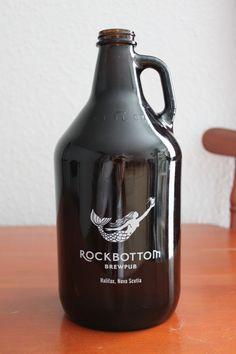 Rockbottom brew. Love the simple mermaid illustration.