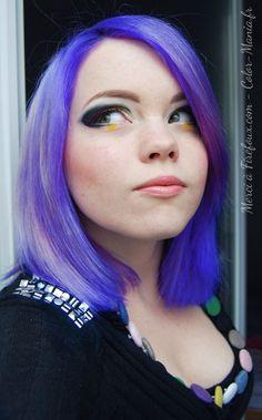 Firefoux.com (coloration cheveux La Riché Directions Lilac - base décolorée)