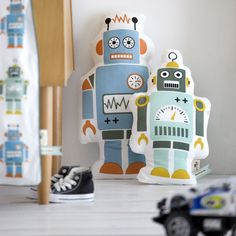 Ferm Living Mr. Large Robot tyyny | Sisustustyynyt | Sisustus | Finnish Design Shop