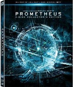 DON'T MISS THE PROMETHEUS 3D 4-DISC SET  The Prometheus 4 disc Blu-ray 3D set includes the stereoscopic full feature film by Ridley Scott, but also comes with over seven hours of extras. Fox Home Entertainment included everything from commentary to delete