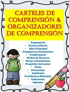 This file contains excellent SPANISH comprehension posters plus you get organizers/activity folds for all the following skills:Argumento-Story Concept Map Poster and OrganizerCausa y Efecto-Cause & Effect Poster and OrganizerIdea Principal (2 Organizadores)-Main Idea Poster & 2 OrganizersComparar y Contrastar (2 Diferentes Carteles)-Compare & Contrast 2 Posters and OrganizerPrediccion-Prediction Poster & OrganizerOrden de Sucesos-Sequence of Events Poster and OrganizerSacar Concl...