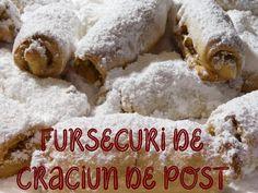 FURSECURI DE CRACIUN DE POST. - YouTube Dessert Recipes, Desserts, Grains, Rice, Sweets, Vegan, Food, Youtube, Tailgate Desserts