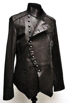 CWMALLS Men's Mink Fur Lined Lambskin Jacket CW857338 Classics ...