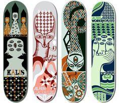 Alien Workshop   Skateboard graphics  Skateboarding