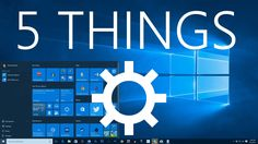 Here are the five things you should do after you upgrade your Windows 7 or Windows 8 machine to Windows 10. Music by DJ Giovita, remix of Indigo by Hallway S...