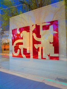 I happen to know and like this artist's work (Cecil Touchon) of collaged font fragments. Cool to see for real.     Discover the best #Art galleries in     NYC at https://www.artexperiencenyc.com