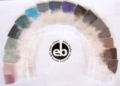 The True Summer eye shadow Rainbow from Elea Blake Cosmetics.