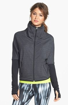 Nike 'Fearless & Bold' Dri-FIT French Terry Jacket available at #Nordstrom