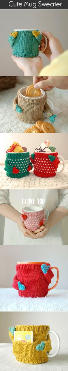 Craft Ideas: Something Cute And Special For Those Coffee Lovers.