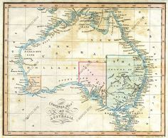 Australian State and City Maps and Views Vintage Maps, Antique Maps, Advance Australia Fair, Australia Map, Old Maps, City Maps, History, Image, Melbourne