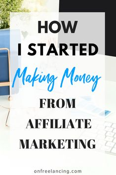 Still waiting for your first affiliate sale? Find out my best tips on affiliate marketing and how I made my first affiliate sale. How To Start A Blog, How To Find Out, How To Make Money, Blogger Tips, Blogging For Beginners, Make Money Blogging, Pinterest Marketing, Online Business, Business Tips