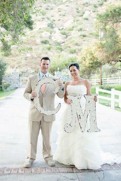 cute idea! Country Chic Wedding