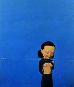 """Liu Ye's interest in Western art and his experience studying in Berlin distinguishes him from many of his contemporary Chinese artists who have turned their art as a weapon against the Communist Regime after the Tiananmen Square protest in 1989. As the art historian Pi Li says,""""The major difference between him and his contemporaries was that he did not go through the period of rage around 1989 [following the Tiananmen Square massacre], nor did his works contain elements of 'collective'…"""