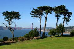 Golf with a view. #ilovesanfrancisco #joyholiday