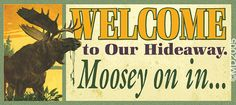 Moose Lodge Sign (NEW SIZE)