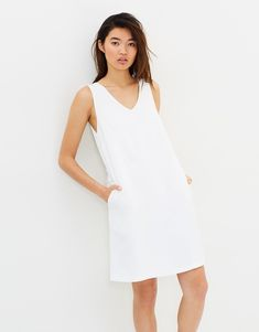 White Dress, Stuff To Buy, Clothes, Dresses, Label, Products, Fashion, Outfits, Vestidos