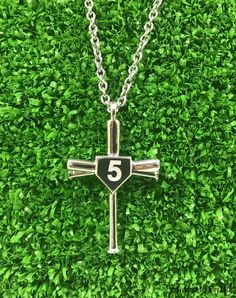 18 inch K/&C Sterling Silver Celtic Cross Charm with a Carded Box Chain Necklace